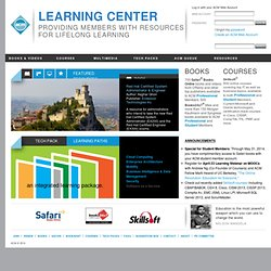 ACM Online Books and Courses - SkillSoft FAQ