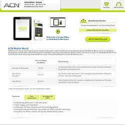 Online-Shop: Mobile World Telefonieren Sie ab sofort günstig vom Handy ins Ausland