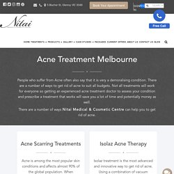 Best Acne Treatment in Melbourne