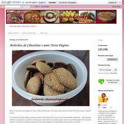 Sabores Aconchegantes: Bolachas de Chocolate e uma Nova Página