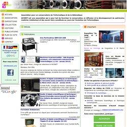 Aconit : association grenobloise de conservation du patrimoine informatique