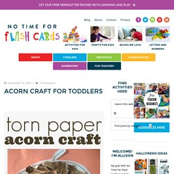 Acorn Craft For Toddlers