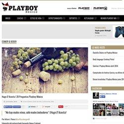 20 preguntas Playboy México