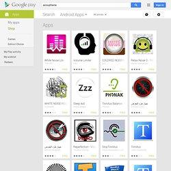 smartphone android - applications spécialisées