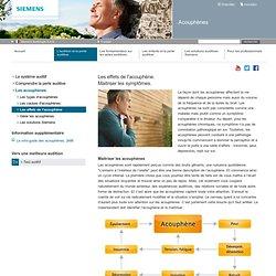 Les effets de l'acouphène - Siemens Hearing Instruments