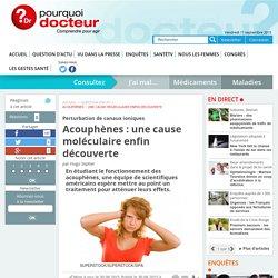 Acouphènes : une cause moléculaire enfin découverte