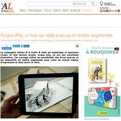 Acqua Alta, un livre qui mêle pop-up et réalité augmentée