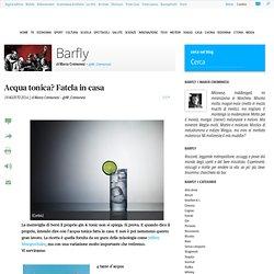 Acqua tonica? Fatela in casa | Barfly