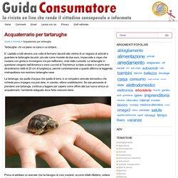 Acquaterrario per tartarughe