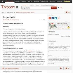 """Acquedotti in """"Enciclopedia dei ragazzi"""""""