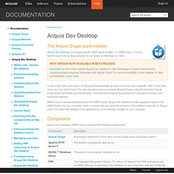 Drupal Stack Installer | Acquia
