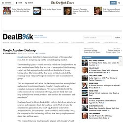 Google Acquires The DealMap