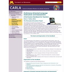 : Articulation of Language Instruction