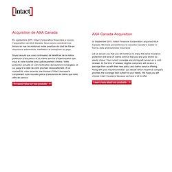 AXA Insurance | AXA Assurance | Axa Canada
