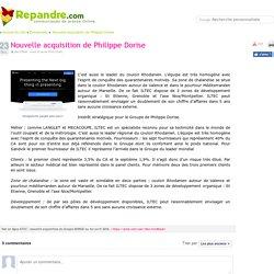 Nouvelle acquisition de Philippe Dorise - Communiqué de presse