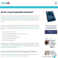 Acquisition de clients et nouvelles stratégies utilisateur avec SheerID