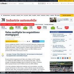 Valeo multiplie les acquisitions stratégiques