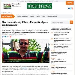 Meurtre de Claudy Elisor : l'acquitté répète son innocence