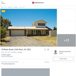 10 Bates Road, Little River, Vic 3211 - SOLD Acreage/Semi-Rural #106153428