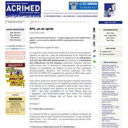 RFI, un an après