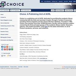 ACRL Choice