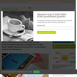 Acrobat Reader Mobile peut désormais numériser vos documents