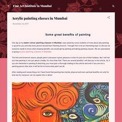 Acrylic painting classes in Mumbai