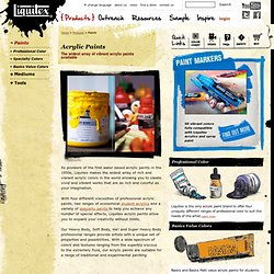 Acrylic Paint, Acrylic Color, Professional Acrylic Paints - Liquitex