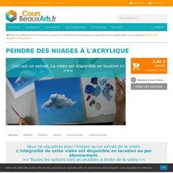 Peindre des Nuages à l'Acrylique - CoursBeauxArts.fr