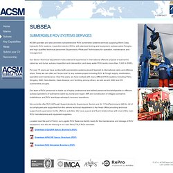 ACSM - Agencia Marítima