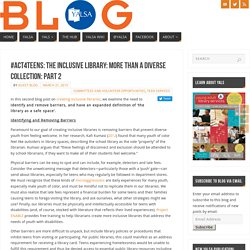 #act4teens: The Inclusive Library: More than a Diverse Collection: Part 2