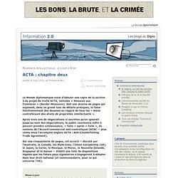 ACTA : chapitre deux