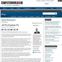 ACTA Update VI