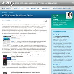 ACTE Career Readiness Series