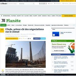 23/11/15 L'Inde, acteur-clé des négociations sur le climat