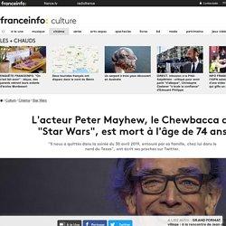 """L'acteur Peter Mayhew, le Chewbacca de """"Star Wars"""", est mort à l'âge de 74 ans"""