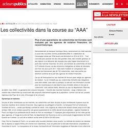 """Les collectivités dans la course au """"AAA"""""""