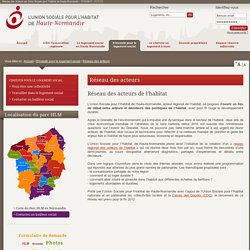 Réseau des acteurs par Union Sociale pour l'Habitat de Haute-Normandie - 17/03/2017 - 11:11:13