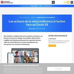 Les acteurs de la visioconférence à l'action face au Covid-19