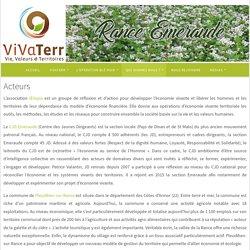Acteurs – ViVaTerr Rance-Emeraude