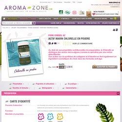 Actif marin Chlorelle en poudre - Aroma-Zone