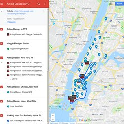 Acting Classes NYC - Google My Maps