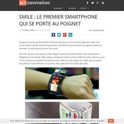 Smile : le smartphone porté au poignet