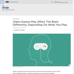 Action Video Games May Affect The Brain Differently