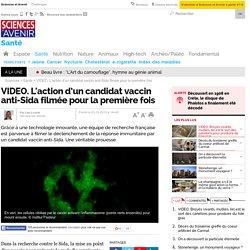 L'action d'un candidat vaccin anti-Sida filmée pour la première fois