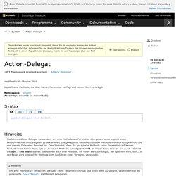 Action-Delegat (System)