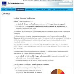 Action de l'Union européenne – Douanes