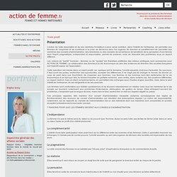 Action de femme - Présentation