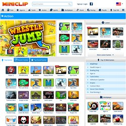 Action Games - Games at Miniclip