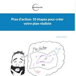 Plan d'action: créer le votre en 8 étapes (modèle gratuit à télécharger)
